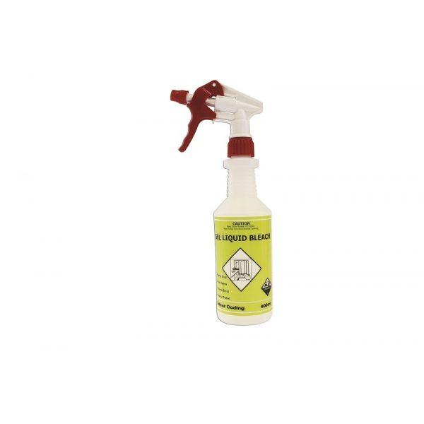 Colour Coded Spray Bottle (Gel Liquid Bleach)